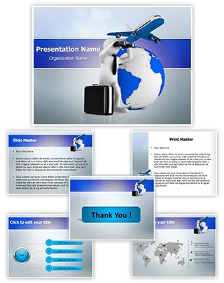 International Business Plan Editable PowerPoint Template