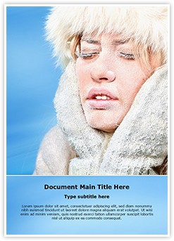 Hypothermia Problem Editable Word Template