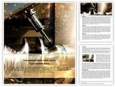Metalworking Lathe Editable Word Template