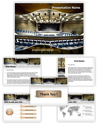 Congress Palace Editable PowerPoint Template