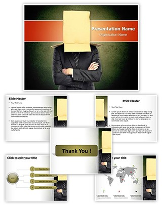 Hidden Identity Editable PowerPoint Template