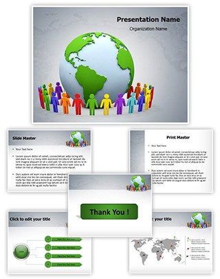 World Together Editable PowerPoint Template