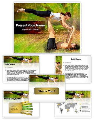 Tantra Yoga Editable PowerPoint Template