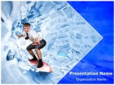 Documents Surfing Editable PowerPoint Template