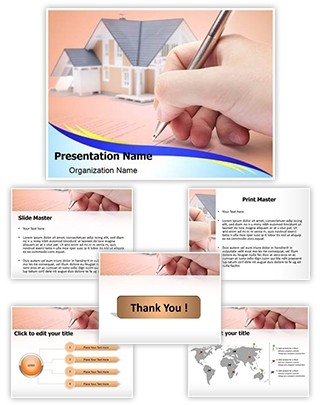 Underwriting Editable PowerPoint Template