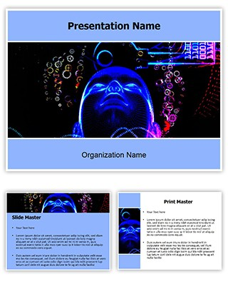 Professional artificial intelligence editable powerpoint template artificial intelligence powerpoint template is a free powerpoint template with artificial intelligence illustrations that you can download to make toneelgroepblik Gallery
