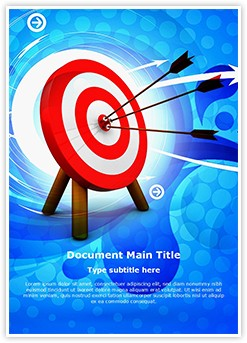 Hit the target Editable Word Template