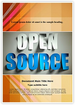 Open Source Editable Word Template
