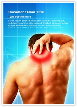 Neck Pain Editable Word Template