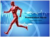 Healthy Heart Beats Editable PowerPoint Template