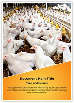 Poultry Farm Editable Word Template