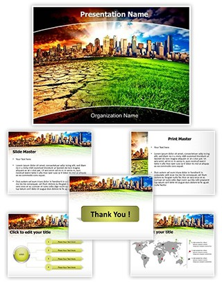 Climate Change Editable PowerPoint Template