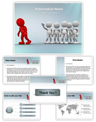 Discrimination Editable PowerPoint Template