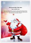 Santa Claus Snowfall