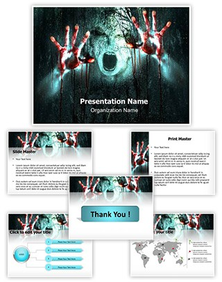 Zombie Editable PowerPoint Template