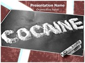 Cocaine Editable PowerPoint Template
