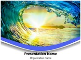 Tides Editable PowerPoint Template