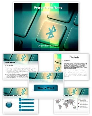 Bluetooth Editable PowerPoint Template