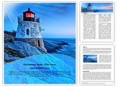 Lighthouse Castle Template