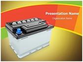 Car Battery Editable PowerPoint Template