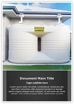 Water Tanks Editable Word Template