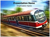 Train Accident Editable PowerPoint Template