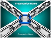 3D Chain Editable PowerPoint Template