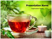 Herbal Tea Editable PowerPoint Template