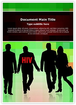 HIV Transmission Editable Word Template