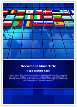 International Relations Editable Word Template