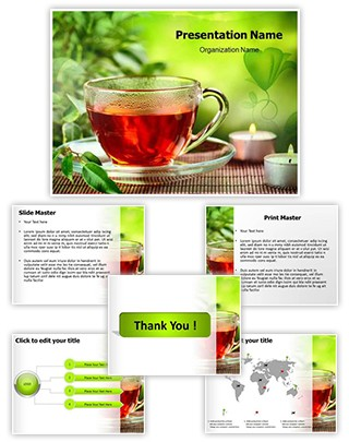 Herbal Tea Editable PowerPoint Template