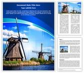 Windmill Editable Word Template