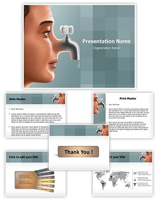 Cold Nose Editable PowerPoint Template