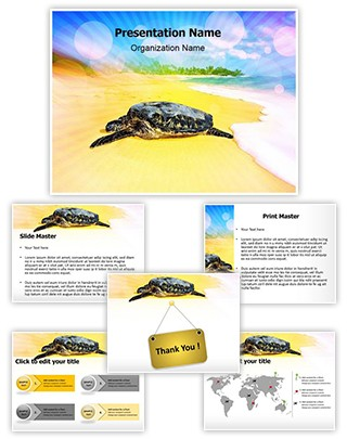 Turtle Beach Editable PowerPoint Template