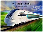 Bullet Train Editable PowerPoint Template