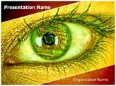 Bionic Eye PowerPoint Templates
