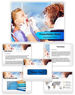 Dental Checkup Editable PowerPoint Template