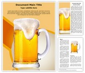 Beer Glass Template