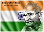 Mahatma Gandhi Template