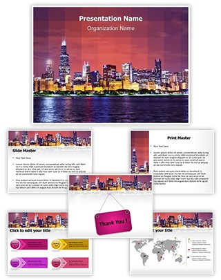 Metropolitan City Editable PowerPoint Template