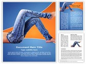 Denim Jeans Template