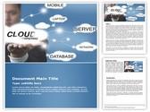 Cloud Computing Free Word Template