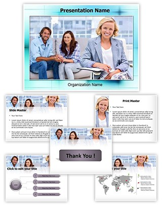 Couple Conciliator Editable PowerPoint Template