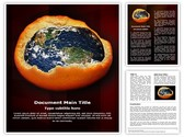 Depletion of Ozone Layer Template