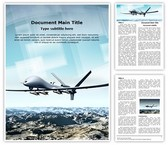 Drone Aircraft Template