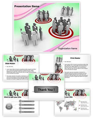 Target Groups Editable PowerPoint Template