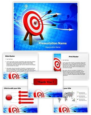 Hit The Target Editable PowerPoint Template