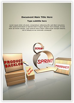 Scrum Process Editable Word Template