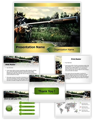 Sniper Editable PowerPoint Template
