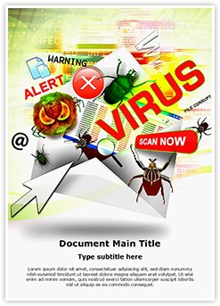 Email Virus Editable Word Template